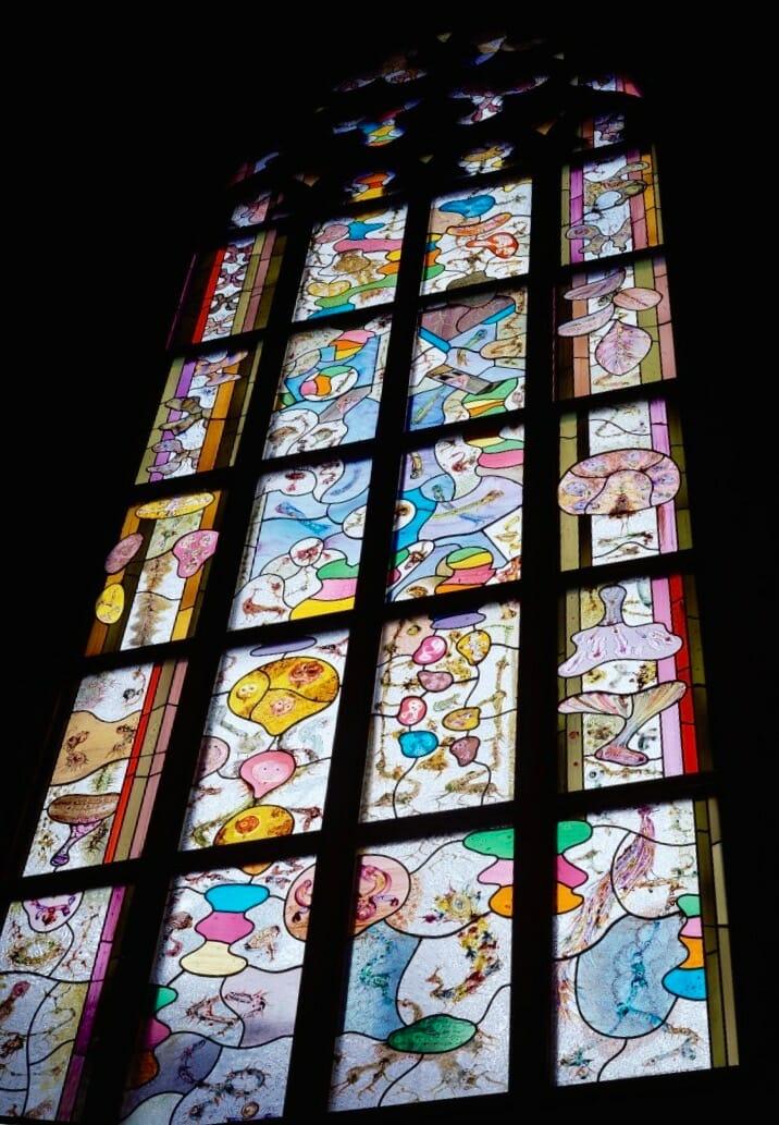 Een tuin van glas, vervaardigd t.g.v. het 25-jarig regeringsjubileum van koningin Beatrix. De Nieuwe Kerk Amsterdam, 2004